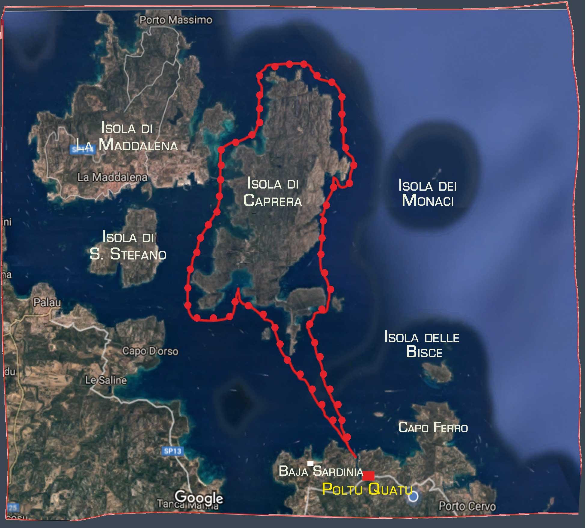 Caprera-Tour-map